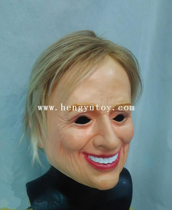 Famous Politcal America People Hilary Clinton Mask